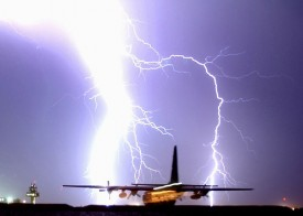 Airplanes Get Struck by Lightning More Often than You Think