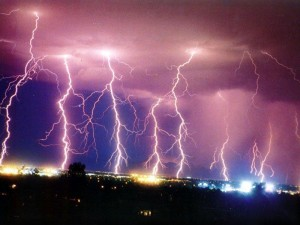 Record Breaking Climates of 2012 Attribute to Increased Lightning Strikes