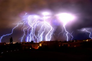 Lightning storm, Albuquerque, NM