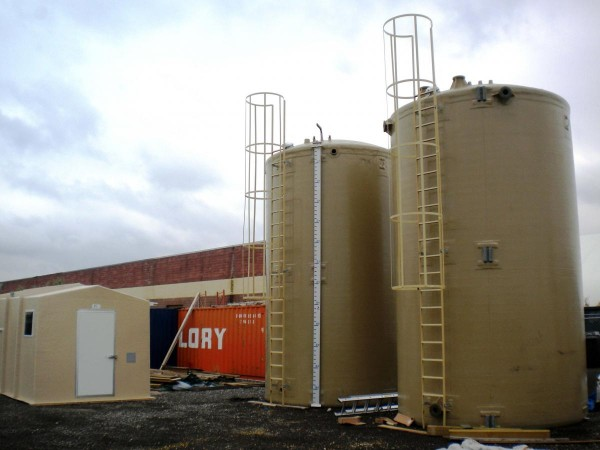 Non-Metallic Chemical Storage Tanks and Lightning Impact Mitigation: Problem Solved!