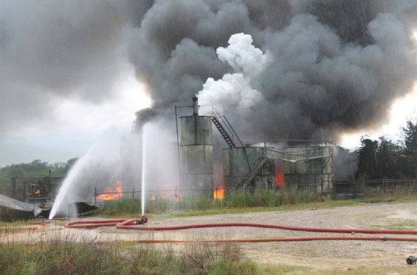 Tank Explosions, lightning strikes, North Dakoto Lightning strikes, Tank Farms, Tank Batteries, Lightning Protecion, Fuel Marketers News, Texas Tank Explosions, Storage Tank Protection, Storage Tank Safety, Oil and Gas Safety, Petroleum Safety