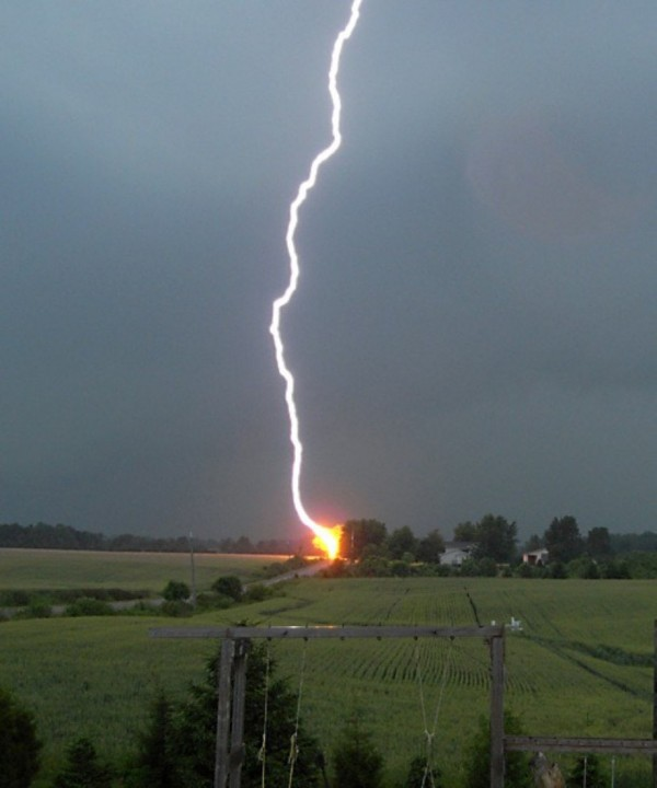 Lightning Protection: Lightning Positives