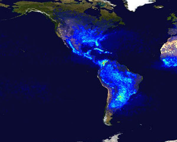 NASA, NASA Lightning, Lightning, Lightning Protection, Lightning Density, United States Lightning