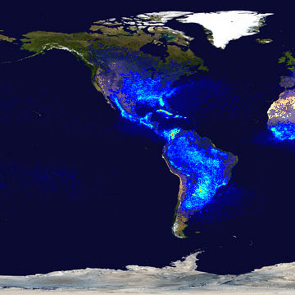 NASA, NASA Lightning, Lightning, Lightning Protection, Lightning Density, United States Lightning