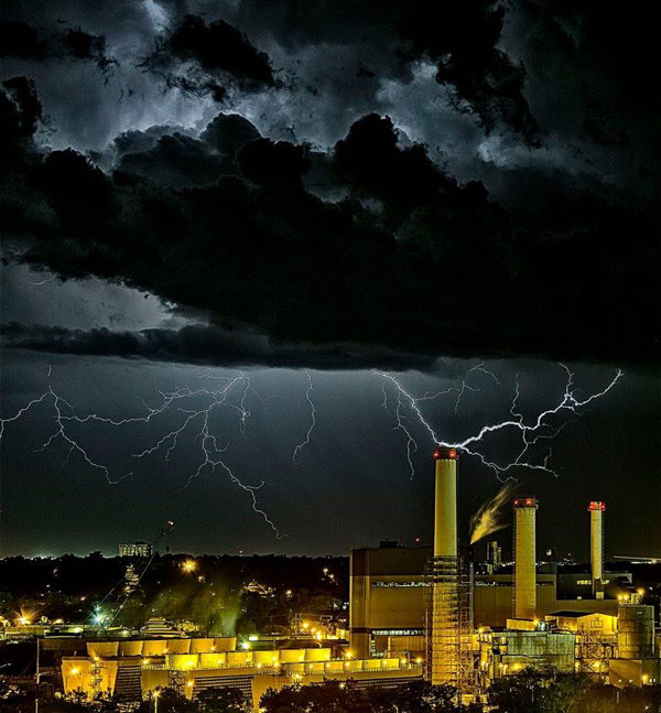 Drake Power Plant, Colorado Springs, CO USA- Larry Marr