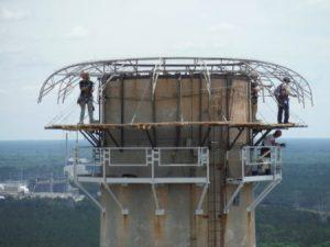 Lightning Protection System That Eliminates A Strike