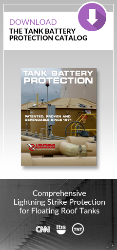Storage Tank Protection By Lightning Eliminators